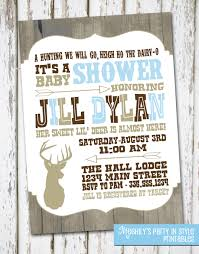 country themed baby shower invitations hunting themed baby shower invitations iidaemilia com