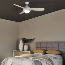 White Bedroom Ceiling Fans Discus Trio Ceiling Fan By Monte Carlo Fan Company Ylighting