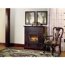 Electric Fireplace Heaters Fingerhut Alcove Franklin Electric Fireplace Heater With Mantel