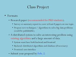 big data class ids561 big data analytics ppt online