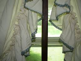 Primitive Curtians by The Adorable Of Country Ruffled Curtains U2014 Tedx Designs