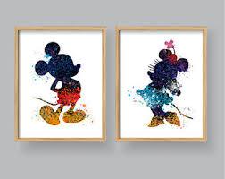 Mickey Home Decor Mickey Mouse Decor Etsy