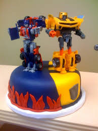 the coolest transformers birthday cake idea