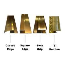 Laminate Flooring Door Trim Wood U0026 Laminate Flooring Trim Edging Metal Strip Gold