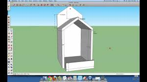 Box House Plans by Open Box Robin Bird House Plans Youtube