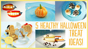 eat 5 healthy halloween treats youtube