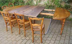 table ovale avec rallonge très grande table ancienne ovale en merisier avec 3 allonges