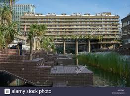 modernist apartments barbican flats concrete apartment building