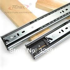 kitchen cabinet drawer slides new new 14 full extension steel ball
