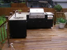 Outdoor Kitchen Cabinets Polymer Attractive Inspiration  Kitchen - Outdoor kitchens cabinets
