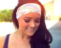 hippy headbands hippie headband etsy