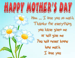 happy mothers day greetings messages wishes images sayings cards