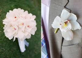 groom s boutonniere orchid bridal bouquet groom s boutonniere