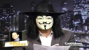 Guy Fawkes Mask Halloween by Olbermann Wears Guy Fawkes Mask U0026 Discloses Steven J Baum
