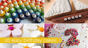 Home Cake Decorating Supply 20 Easy To Decorate Birthday Cakes That Even I Can U0027t Mess Up
