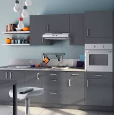 cuisine couleur grise cuisine équipée couleur grise en photo