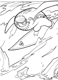 surfs coloring pages coloring