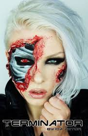 Halloween Liquid Latex Makeup by Best 10 Terminator Makeup Ideas On Pinterest Liquid Latex