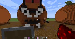 Minecraft Pumpkin Carving Mod by 10 Fun Creative Mode Ideas
