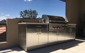 outdoor kitchen cabinets in scottsdale arizona steelkitchen