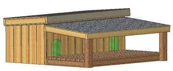 custom design insulated dog house plans large dogs st bernard