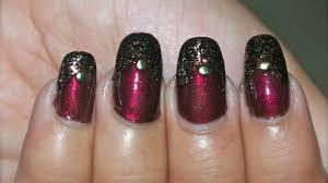 gorgeous fall nail art design youtube