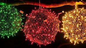 light balls how to hang lights diy for