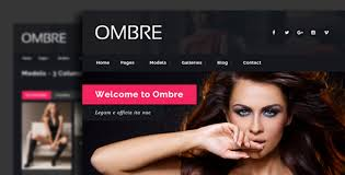 ombre model agency fashion html template by egemenerd themeforest