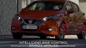nissan micra yeni kasa the all new nissan micra intelligent ride control youtube
