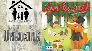 outfoxed board game unboxing youtube