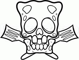 coloring how to draw a cool skull on also how to draw cool