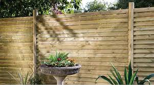 a guide to fence panels u0026 choosing the right products