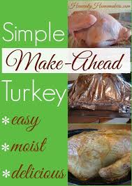 make ahead turkey yes you can