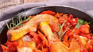 cuisine poulet basquaise recette poulet basquaise cocotte minute royal bernard