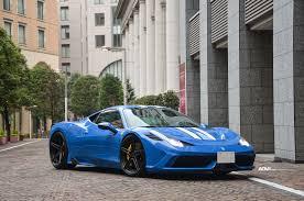 Ferrari 458 Blue - blue ferrari 458 speciale adv05 m v2 sl adv 1 wheels