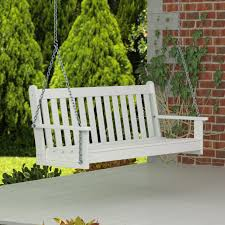 Lowes Patio Bench Outdoor Lowes Porch Swing Deck Swing 3 Person Patio Swing