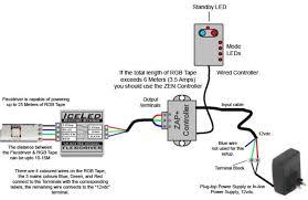 rgb led strip wiring diagram rgb wiring diagrams collection