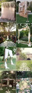 Ideas For Backyard Weddings 30 Sweet Ideas For Intimate Backyard Outdoor Weddings
