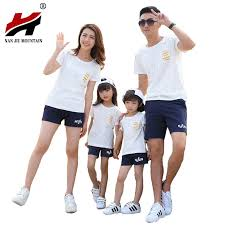 popular family clothes set summer buy cheap