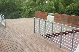 deck paver system a pedestal decking system being installed on a