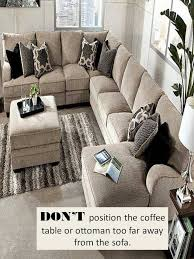 The Coffee Table by Design Guide How To Style A Sectional Sofa Confettistyle