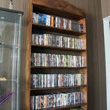 Oak Dvd Storage Cabinet Cd Dvd Storage Shelves Interesting Storage Cabinet Wood Mission
