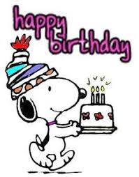 happy birthday clip art snoopy happy birthday pinterest