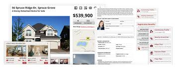 mls listings product tour real estate websites from redman tech