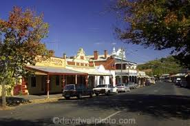 country towns main street maldon victoria australia