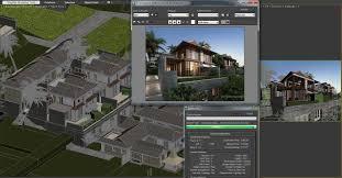 southeast asia villa 3d model cgtrader