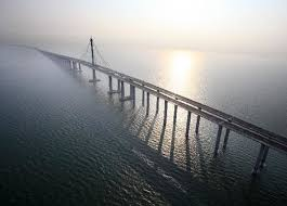 china opens the world u0027s longest bridge over water toppling