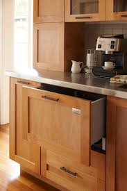 Dishwasher Enclosure Glass Beverage Dispenser With Metal Spigot Home Bar Contemporary