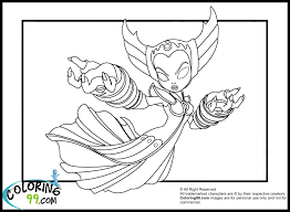 skylanders elves coloring pages minister coloring 1000 images