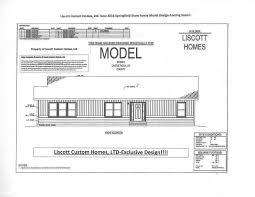 liscott new prow ranch design liscott custom homes ltd